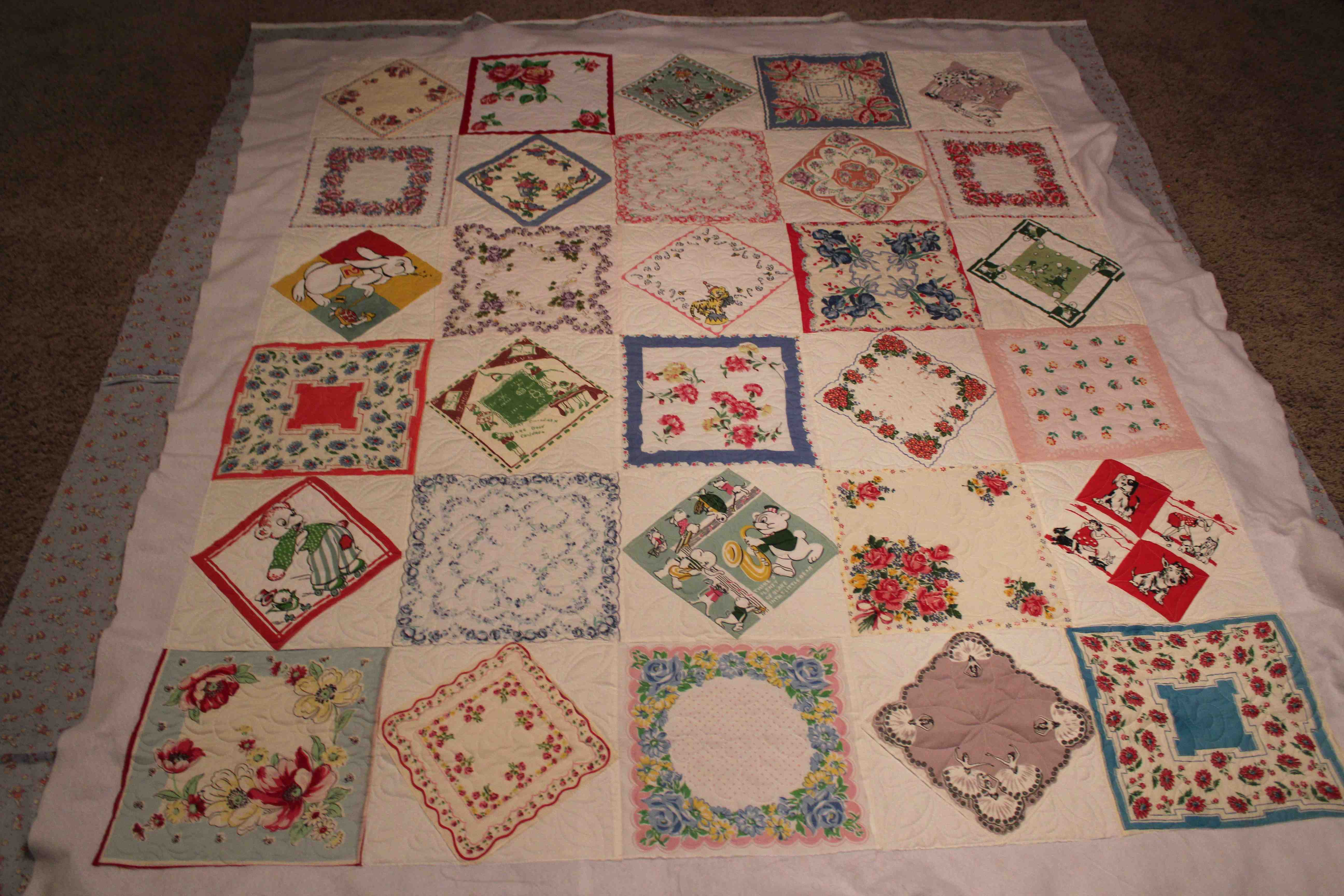 Quilting Is My Therapy It's the most wonderful time of the year ... : hankie quilt - Adamdwight.com