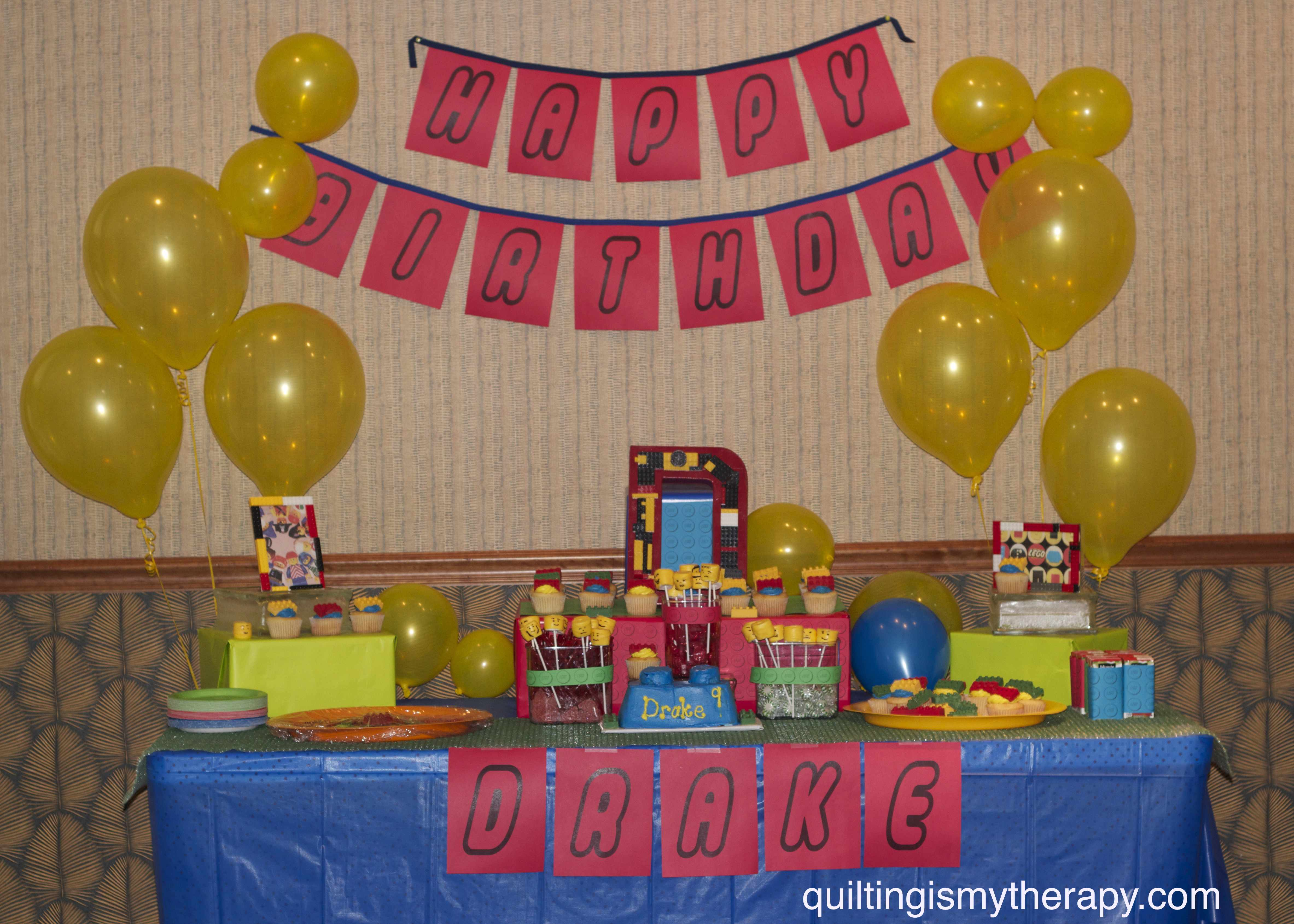 Lego Birthday Party Quiltingismytherapys Blog