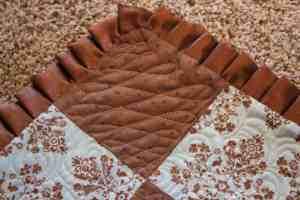 Corner of baby quilt