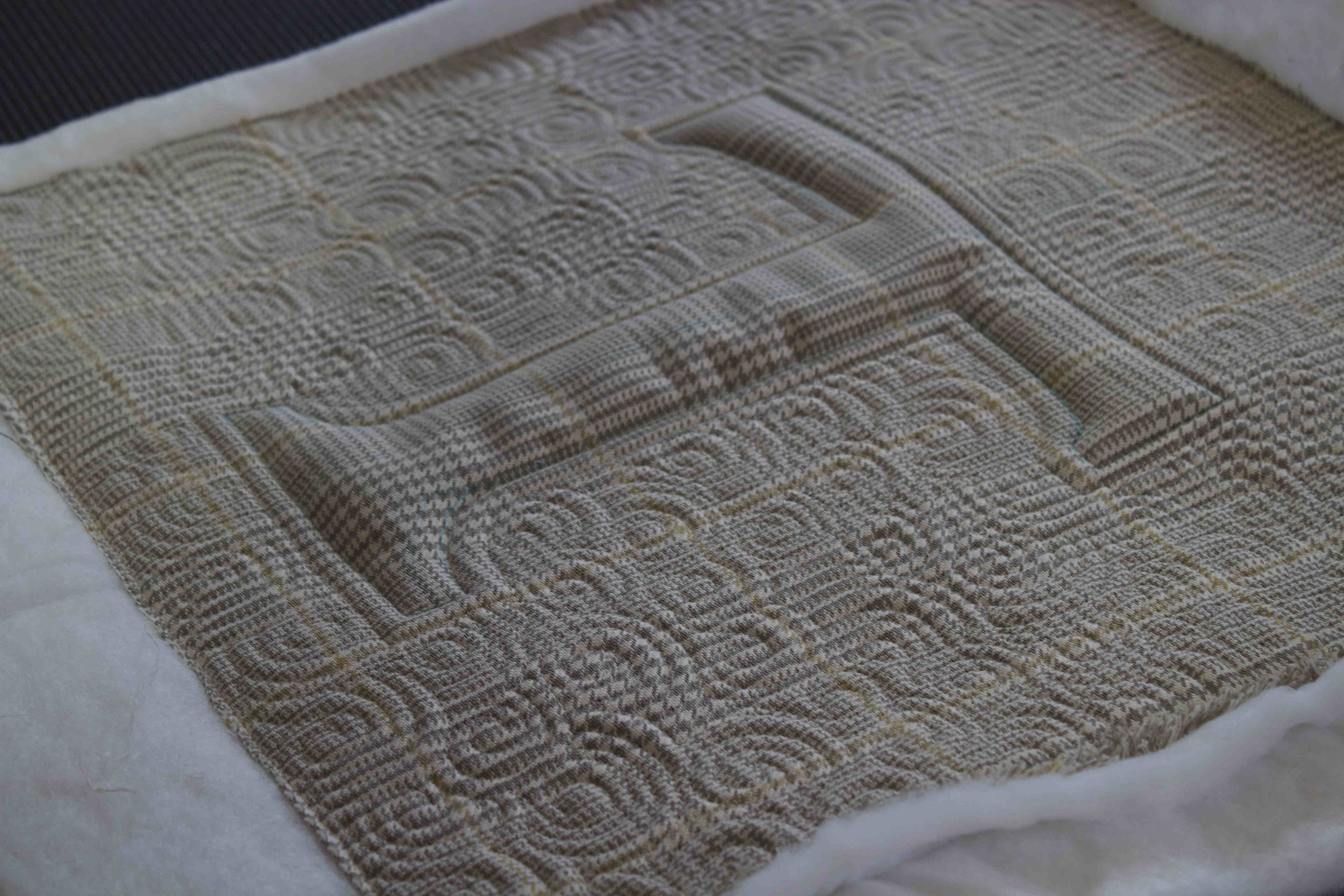Quilting Is My Therapy Faux Trapunto (A Quick Saturday Blog Post ... : trapunto quilt - Adamdwight.com