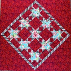 Ohio Star modern quilt