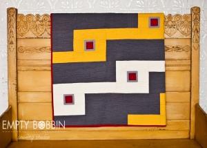 bleachers quilt pattern- a modern quilt