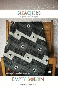 Bleacher quilt pattern cover- a modern quilt