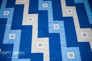 bleachers quilt pattern by empty bobbin patterns