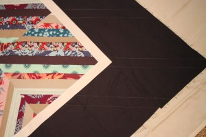 how to quilt it in the border