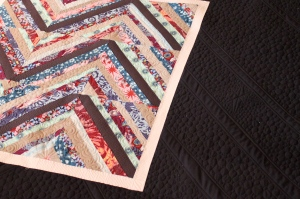 quilting in solid quilt border