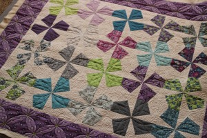 lazy angle ruler quilt pattern, carnival