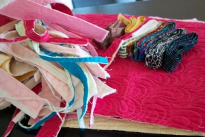 quilting samples from Free-motion Quilting with Angela Walters