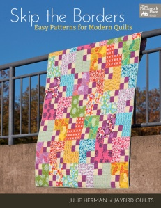 skip the borders book cover by Jaybird quilts
