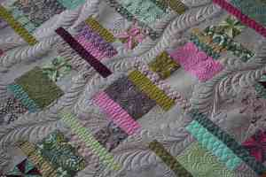 longarm quilting feathers