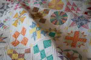 dear jane quilt machine quilting